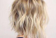 hair style & colour ideas