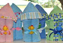 Hooded towels / Kids towels