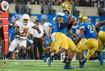 Texas Football 17, UCLA 20 / Texas Football QB Tyrone Swoopes goes 24-of-34 for 196 yards and two touchdowns including one that put Texas ahead 17-13 late in the fourth quarter, but No. 12/12 UCLA struck for a 33-yard TD with 3:00 left for a 20-17 win on Saturday, Sept. 13 at AT&T Stadium in Arlington, Texas. / by Texas Longhorns