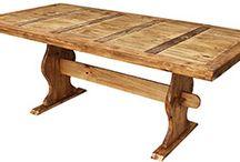 Rustic Pine Furniture ~ Dining