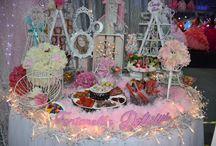 Mesa de Dulces / Las mejores ideas para mesas de dulces #mesadedulces #dulces #quinceaños