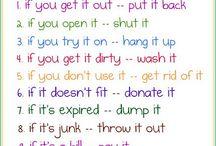 Organization is the key! / by Sinead Quinn