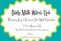 math / by Donna Solomon