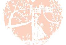 Lauren & Kieron's Wedding Styling / Eastnor Castle wedding styling: 01.08.15