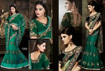 bollywood latest replica fashionable sarees 1205 to 1209 / For inquiry Call or Whatsapp @ 09173949839