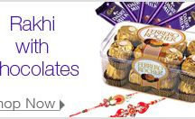 Rakhi / Amazing gifts and rakhi for brother and sister festival.