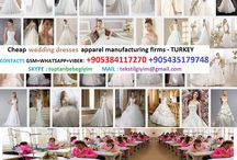 wedding dress - Manufacturing companies / wedding dress - Manufacturing companies CONTACT : +90 538 411 72 70