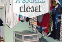 closet organization / by Monique McCollum