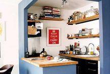 Cozinha e cores