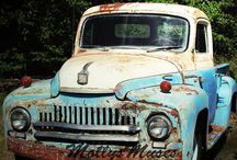 Old Trucks / Mainly 50's roundies  rarer the better