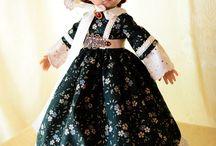 Beautiful Doll 3 /hosszúban / Gyönyörű babák csodaszép ruhákban