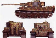 German Tanks colours