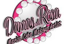 Damas de Rosa / Mi logo de estilo pin up