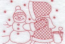 Holiday Embroidery Patterns  / by Janice Quent
