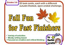 Speech and Language Therapy Fall Activities / Speech therapy games, materials, ideas, and activities all around the theme of fall.   / by Sherri Clifton