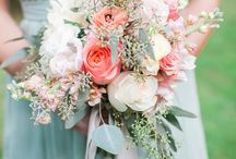 F L O W E R S / Perfect flowers, arranged for the bride/bmaids