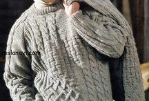 вязание мужчине