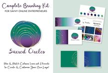 My Shop on Creative Market - Complete Branding Kits / Stand out from the crowd with beautiful branding kits and feminine logo designs. I'm Vicki, a Branding Designer for women in business. My shop is full of wonderful graphics, kits and branding bundles to help jumpstart your business - you'll feel like you've been Magically Branded!