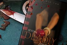 "7 Deadly Sins / https://goo.gl/ed1LFM  ""As if it was written by destiny, for their paths to meet and all to gain to meaning"".  Gluttony, Envy, Lust, Wrath, Pride, Greed, Sloth: 7 Sins to Die for.  Seven short stories about desire, dreams and bloody passion."