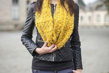 Collection laine mohair et soie / Accessoires ou prêt à porté en laine mohair et soie