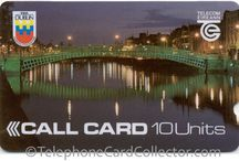 Call Card: Trial Phonecards / Ireland's launch of telephone cards in 1988 was not a nationwide rollout, rather three separate field trials took place in three major Irish cities, namely; Dublin, Galway and Limerick.
