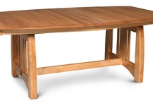 Simply Amish Trestle Tables / A selection of Trestle Tables offered by Simply Amish.