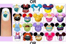 Disney paznokcie