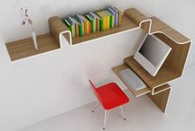 Concentration Stations / Furniture and workspaces to inspire, not depress with the mess.  ;) / by Robin Allison