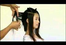 medium hajvágás