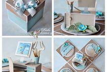 Krabickove prani - exploding box card