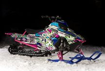 Snowmobile / by Lindsey Hemmer