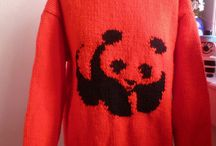 #Bexknits on Ebay / Various hand knitted jumpers hand knitted by Bex