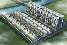 Devaki / 3 BHK Double Duplexes - 3 BHK Twin Bungalows - 2 BHK Rowhouses - 2 BHK Apartments - Commercial Spaces