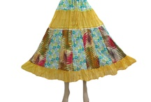 Colorful Gypsy Skirts
