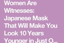 Rice mask look 10yrs younger