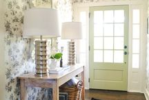 Entryways / Foyers / by Laura Kiernan {JourneyChic.com}