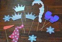 Idéias para Aniversário com tema Frozen / Coleção de idéias, inspirações e referências para o aniversário de nove anos da minha fofinha!