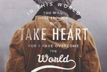 Take Heart ...