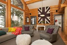Log Homes / by Sussedout