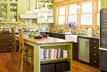 Kitchens / Ideas for our kitchen redo! / by Angie Shafer-Jarman