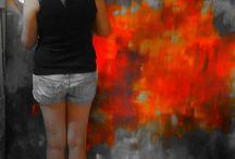 Momentos no atelier / www.katiaalmeidaart.com.br