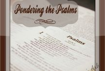 Sandra's Ark - Pondering the Psalms