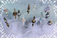 "Hat Pins & Tea Party Jewelry / Lovely accessories you might like to wear to ""Tea"""