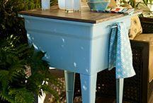 Deck, Pool & Yard Ideas / by Darcy Salser Miller