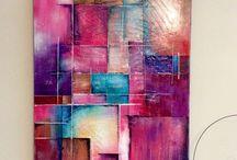 """Arlequin / Ma nouvelle toile créé cette nuit ......  Je vous présente """"  Arlequin """"  Toile de 120 / 80 cm  Style contemporain  Peinture mixte et pâte de structure    Elle sera exposée dès vendredi à l'exposition de CHAUDFONTAINE , tout le mois de juin  https://www.facebook.com/toiles.jeaninelucci/"""