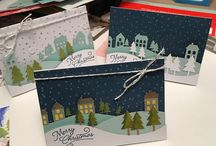 Stampin' Up! My Paper Pumpkin November 2016 Wonderful Winterland / Sign up for My Paper Pumpkin for only $19.95 a month here http://bit.ly/2bv8byh  Visit my website http://MyBeautyScraps.com to learn all about the perks of signing up with me and for alternate ideas and inspiration!