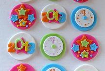 cupcakes año nuevo
