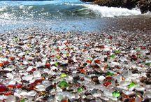 Dünyanın En İlginç Plajları / Gerçek olduğuna inanamayacağınız dünyanın en ilginç 7 plajı.