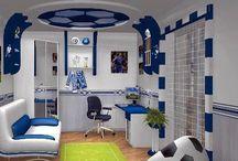 Soccer Bedrooms