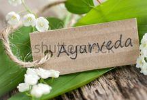 Immagini ayurveda / immagini dei trattamenti, degli olii, dei prodotti,
